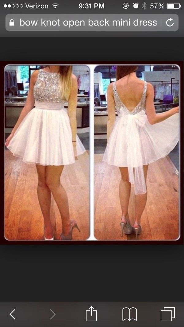 homecoming dress prom dress dress white dress sparkly dress
