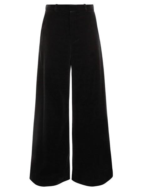 Raey velvet black pants