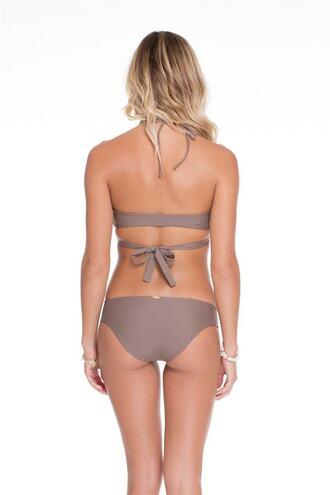 swimwear bikini bottoms brown full luli fama bikiniluxe