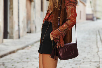 my daily style blogger blouse gucci bag oxblood fall accessories paisley fall colors