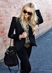cheyenne meets chanel,jacket,sweater,jeans,shoes,bag,belt
