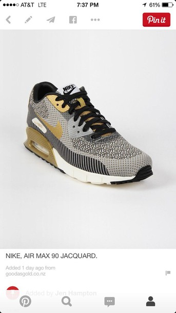 shoes air max 90 jacquard