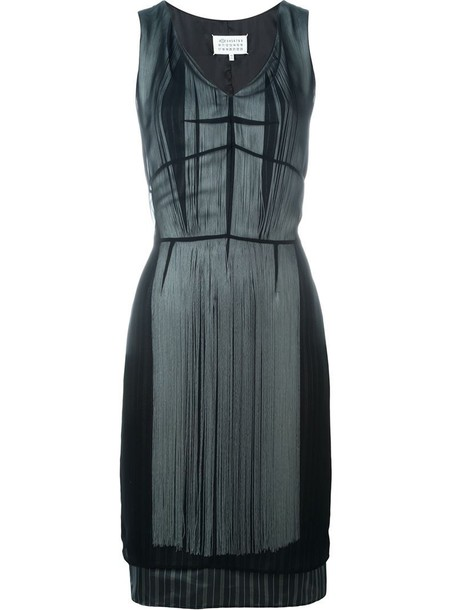 MAISON MARGIELA dress women layered black