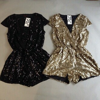 romper sparkle new year's eve