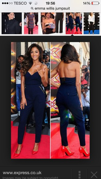dress navy jumpsuit amazing
