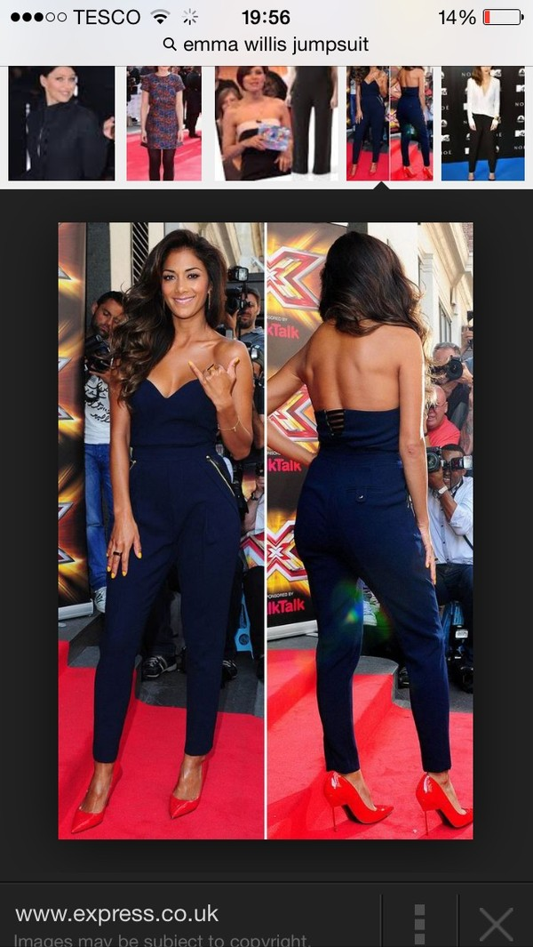 dress jumpsuit navy amazing