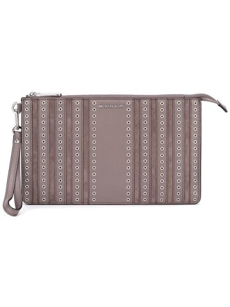 women brooklyn pouch grey bag