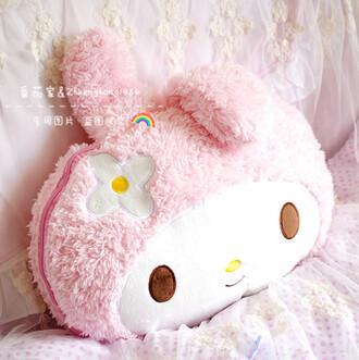 home accessory my melody kawaii rose cute pillow kawaii accessory