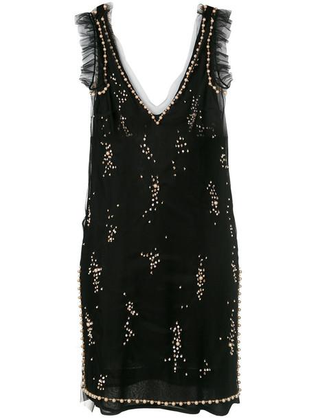 MSGM dress mini dress mini women black