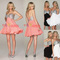 Stylish short strapless sweetheart sequin chiffon party ball cocktail mini dress | ebay