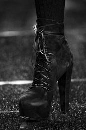 shoes,black boots,platform boots,platform shoes,grunge,goth shoes,goth,boots,high heels boots,high heels,punk,rock,platform lace up boots