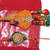 Peacock Multicolor bhaiya and Bhabhi Rakhi Set