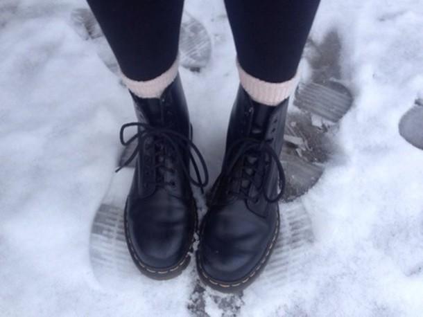 shoes black combat boots boots combat boots