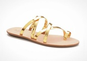 shoes,gold,metallic sandals,strappy sandals,flat sandals,cute sandals,gold sandals,slide sandals,strappy slide sandals,cute strappy sandals,cute gold sandals