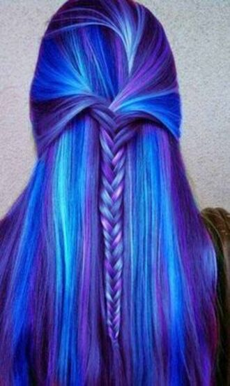 hair accessories braid hair extensions dyed hair wild