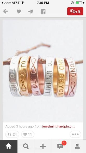 bag infinity ring