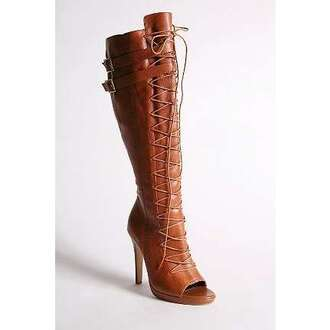 shoes laced boots overknee gladiators urban outfitters
