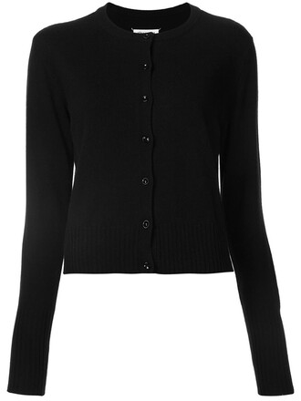 cardigan long classic black sweater