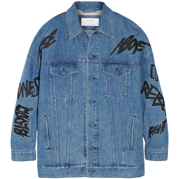 Julien David   Ambush embellished denim jacket