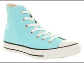 shoes,aruba blue,size 10,chuck taylor all stars