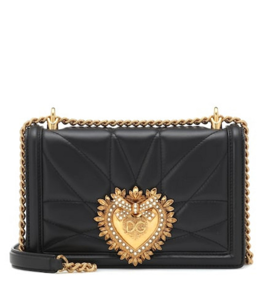 Dolce & Gabbana Medium Devotion shoulder bag in black