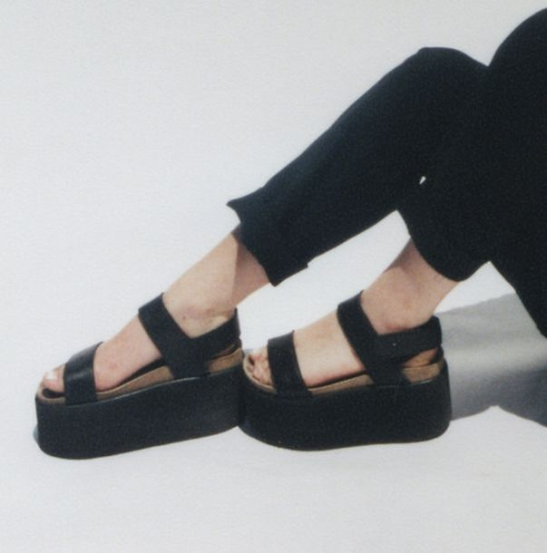 shoes sandals black sandals flatform flatform sandals