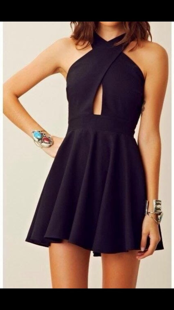 dress black little black dress short dress
