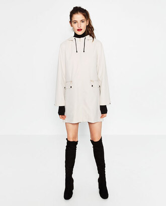 coat white coat rain coat fall outfits fall oufits back to school