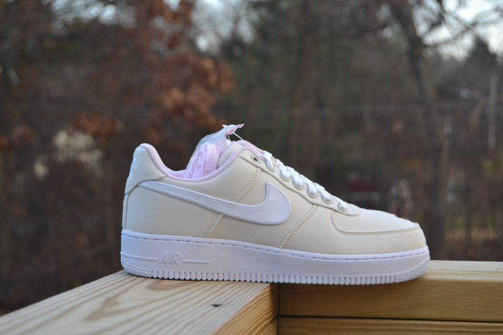 f40b0fc2909 Nike Air Force 1 Low Miami Linen New Size 8.5 DS 812297-100