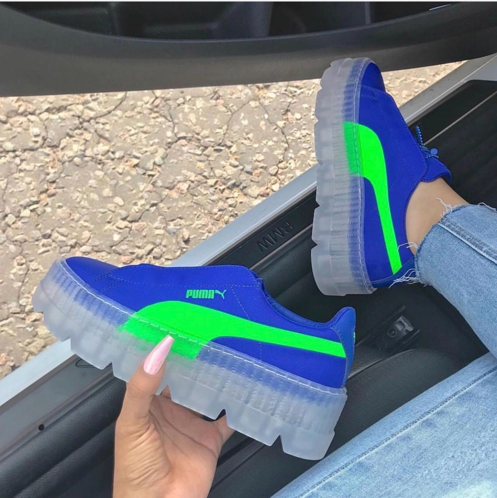promo code 5066c 85ad8 FENTY Women's Cleated Creeper Surf