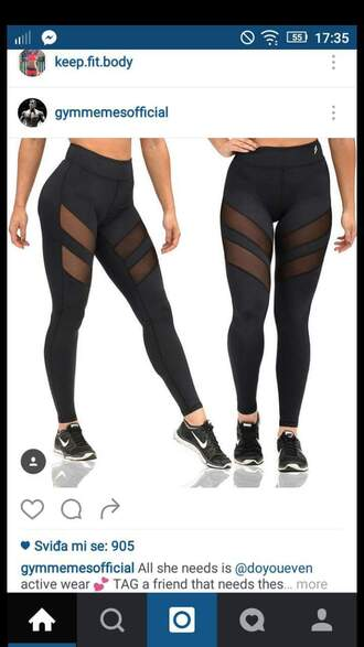 leggings black leggings sports leggings