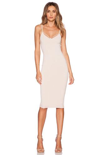 dress shift dress backless blush