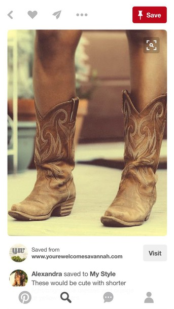 closer at order online new concept shoes, brown, cowgirl boots, cute, worn out - Wheretoget