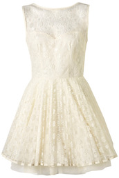 dress,white,point lace