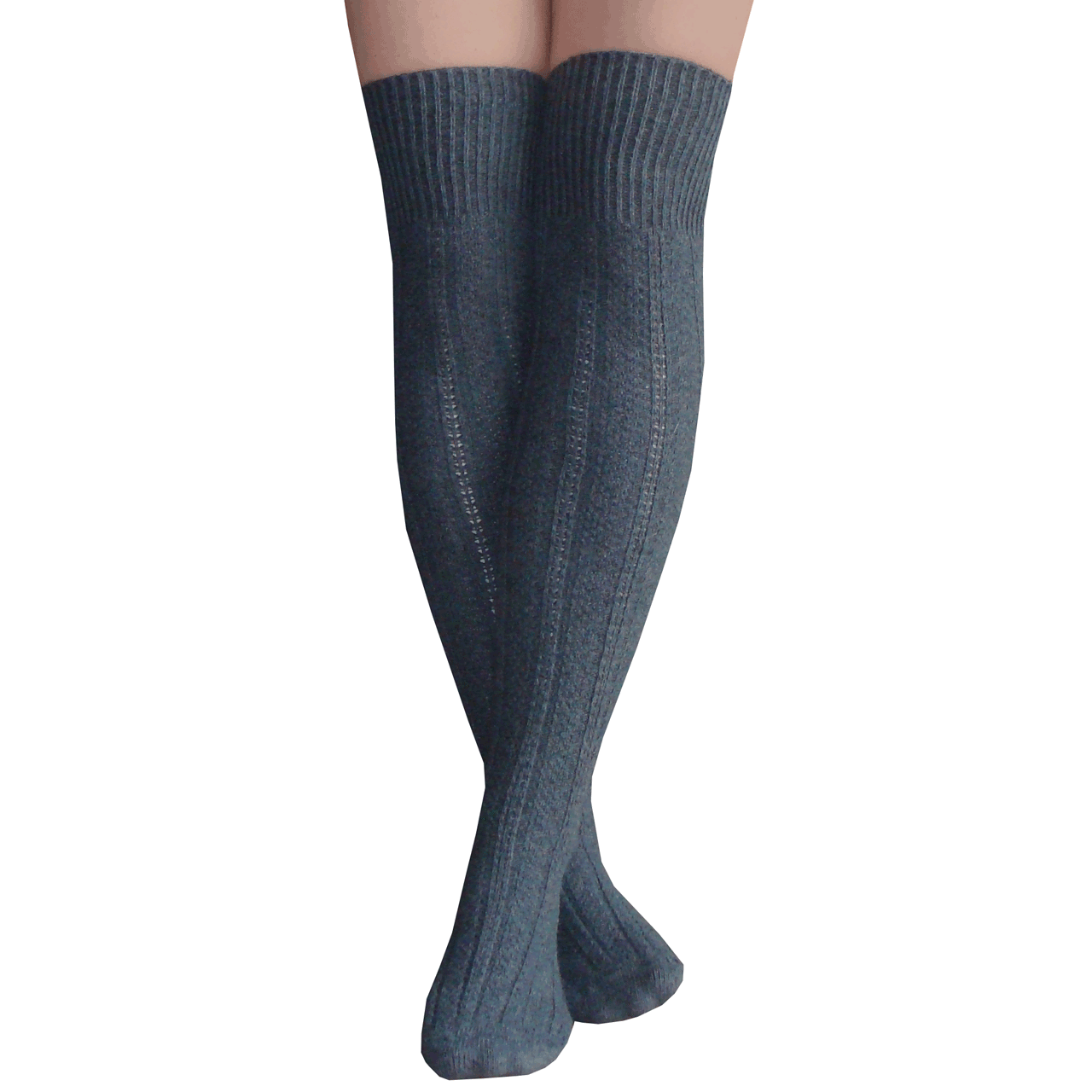 Graphite Thigh Highs