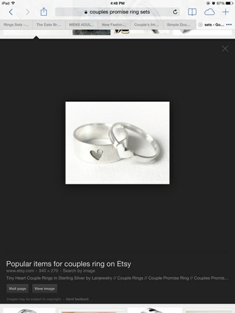 jewels rings silver silver jewelry promise promise ring promise rings promise rings set love rings cute summer couples rings couples jewelry couples t-shirt
