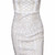 White Jerica Sleeveless Party Dress – Dream Closet Couture