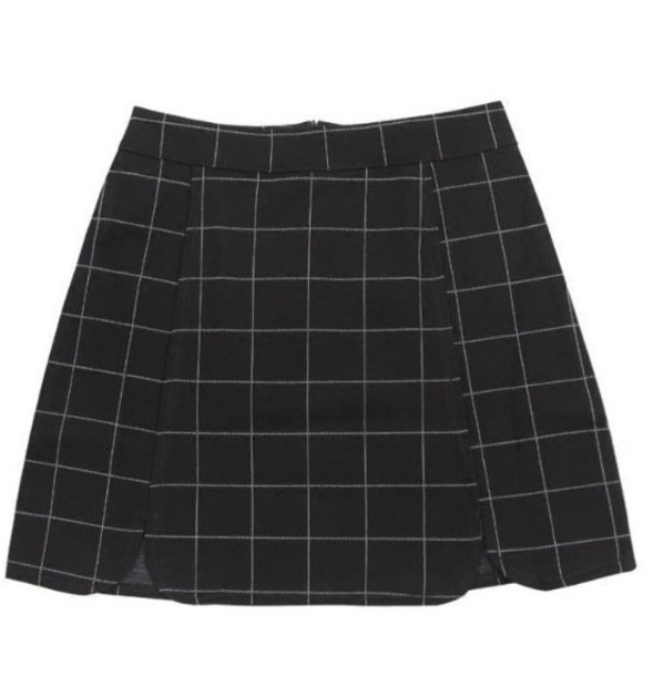 skirt girly mini mini skirt plaid plaid skirt