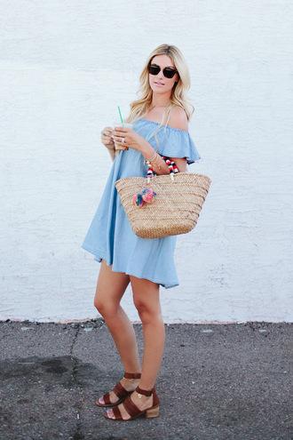 a little dash of darling blogger dress bag shoes jewels