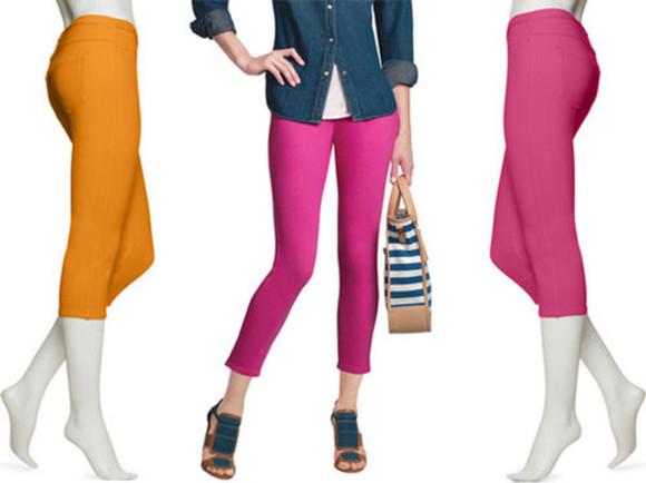 leggings style fashion pants capri leggings