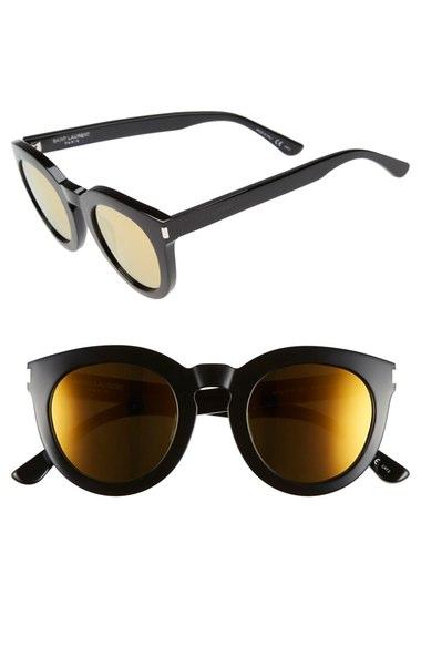 Saint Laurent '102 Surf' 47mm Retro Sunglasses   Nordstrom