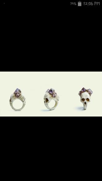 jewels ring skull ring cute earrings stud earrings