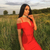 Sweetheart Bardot Bandage Dress Red