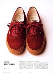 vans,red,shoes,sneakers,corduroy