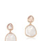 Monica vinader women`s siren drop earrings