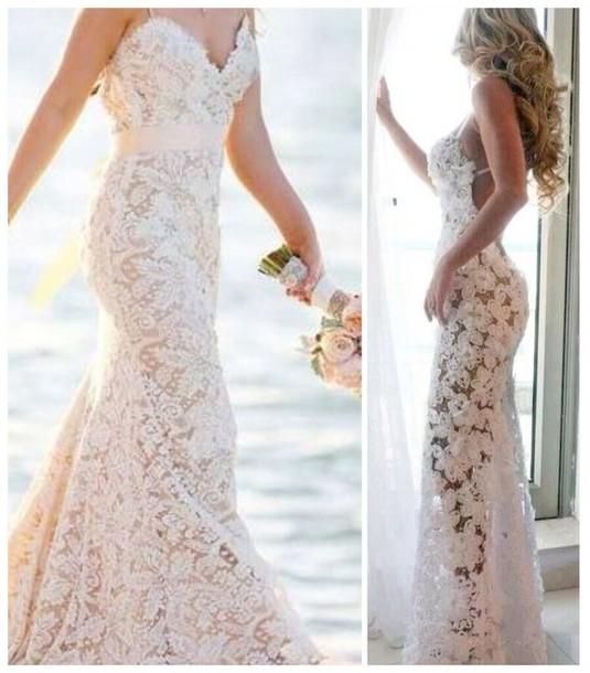 Dress Beach Wedding Dress Lace