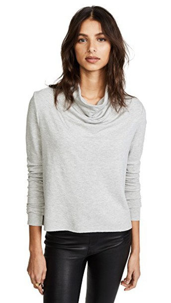 The Range sweatshirt draped grey heather grey sweater