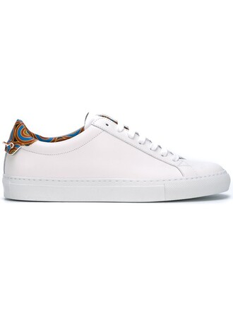 sneakers low top sneakers print white shoes