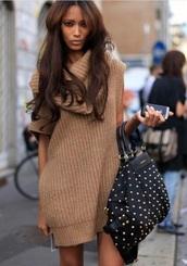 sweater dress,knitted dress,rust