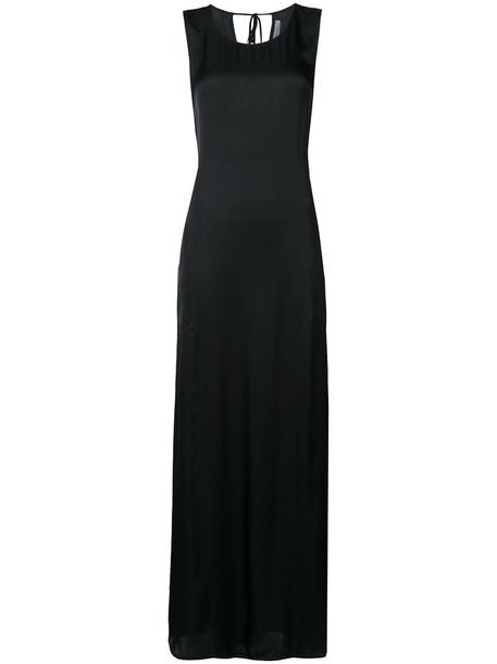 Raquel Allegra dress maxi dress maxi sleeveless women cotton black
